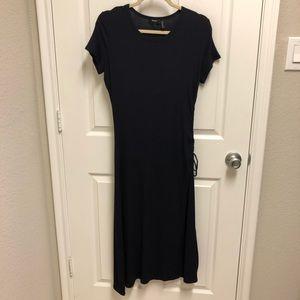 Theory Navy Shirt Dress
